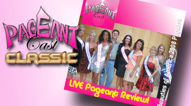 LIVE! Beauties of America pageant – 40's