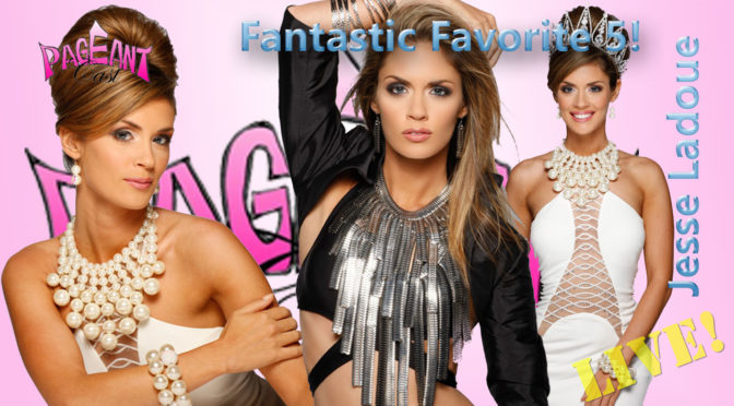 Jesse Ladoue, Miss International 2013: Fantastic Favorite Five