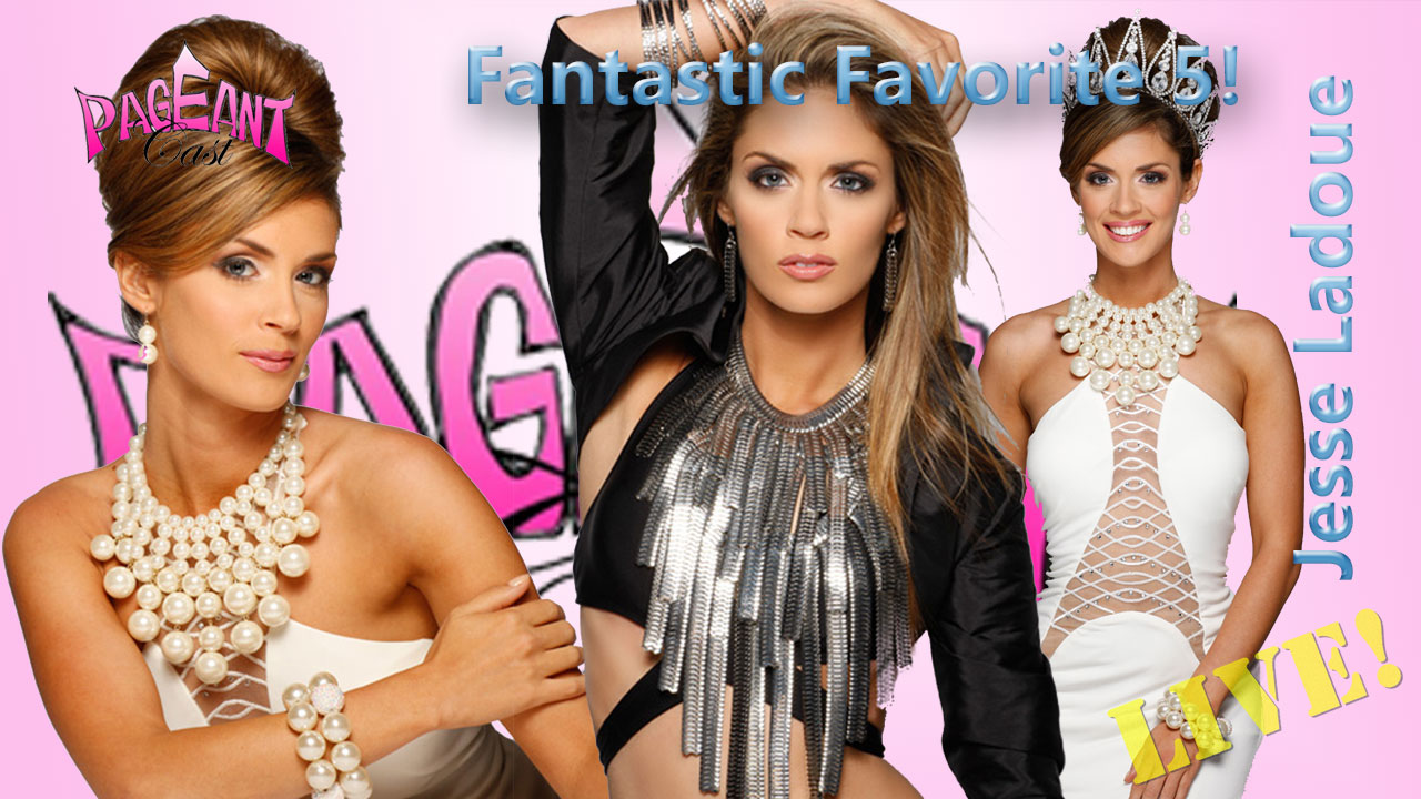 Jesse Ladoue, Miss International 2013: Fantastic Favorite Five