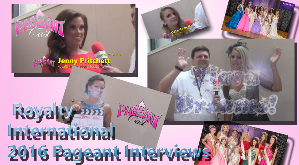 Royalty International Pageant 2016 interviews