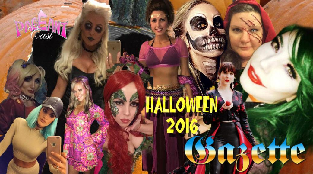 PageantCast Gazette: Halloween 2016