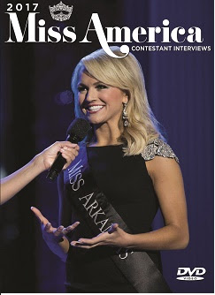 THE 2017 MISS AMERICA  CONTESTANT INTERVIEW DVD  ON SALE NOW