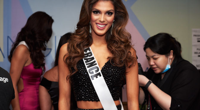 Iris Mittenaere of France crowned Miss Universe