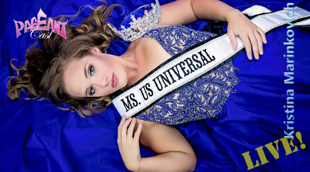 Kristina Marinkovich, Ms. US Universal 2016
