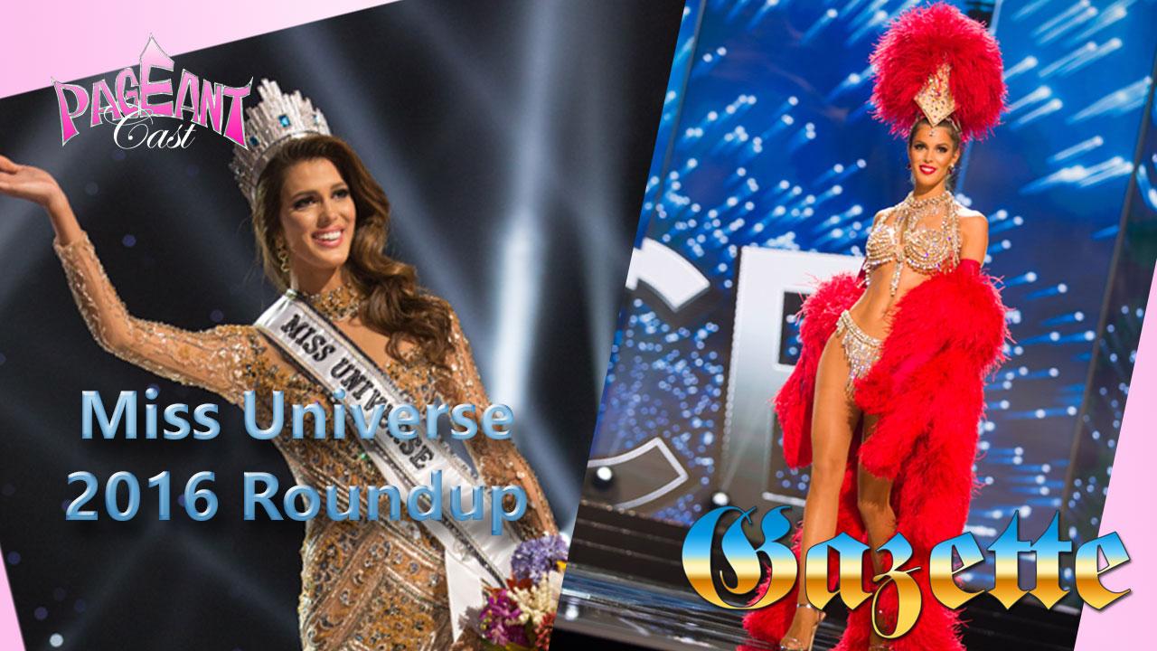 Iris Mittenaere, Miss Universe 2016
