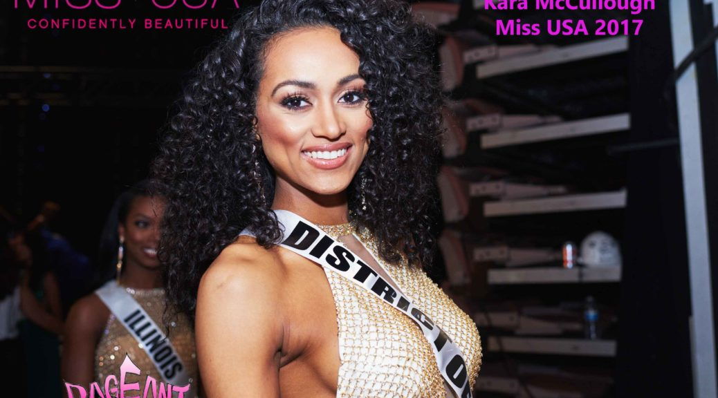 Miss USA 2017 is District of Columbia, Kára McCullough!