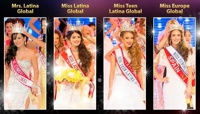 2017 Miss Asia USA & Miss Latina Global Pageant Enrollment