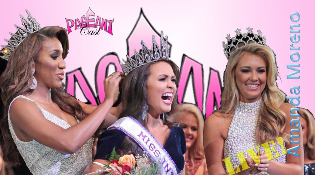 Amanda Moreno, Miss International 2016 - Platform & Pageant