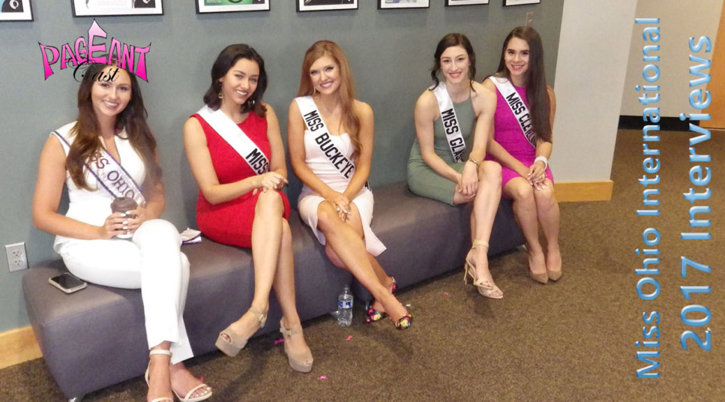 Miss Ohio International 2017 interviews