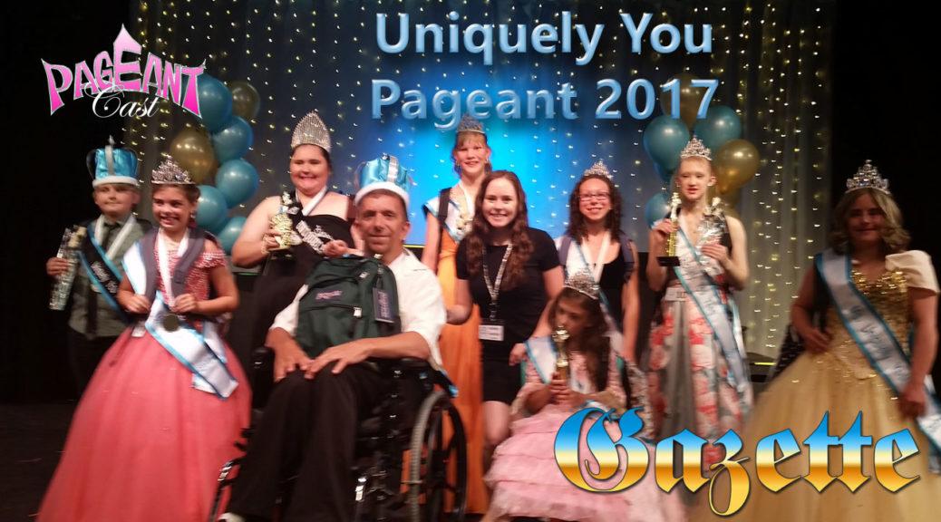 PageantCast Gazette: Uniquely You Pageant