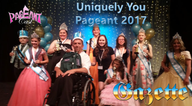 PageantCast Gazette: Uniquely You Pageant