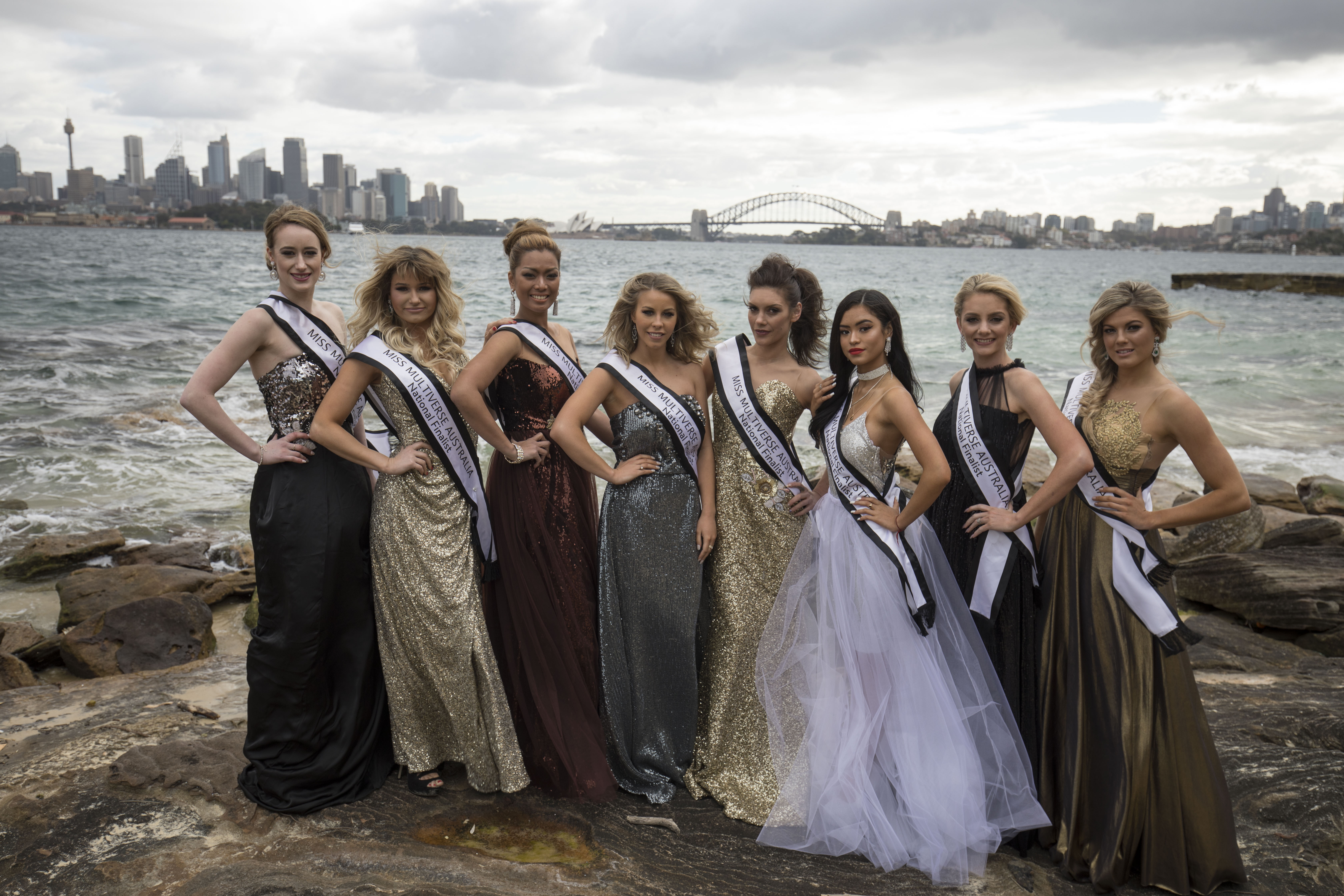 Miss Multiverse Australia contestants