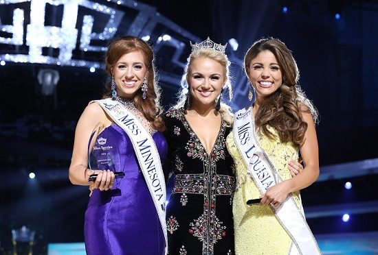 "Miss Minnesota and Miss Louisiana Win Preliminary Awards on Thursday September 7th, the Second Night of ""The 2018 Miss America Competition"""