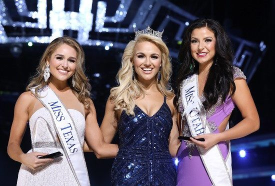 "Miss Utah and Miss Texas Win Preliminary Awards on Wednesday September 6th, the First Night of ""The 2018 Miss America Competition"""