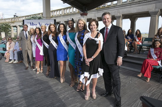 2018 MISS AMERICA CONTESTANTS MAKE OFFICIAL DEBUT  AT ARRIVAL CEREMONY IN ATLANTIC CITY  PRESENTED BY ATLANTICARE AND CRDA