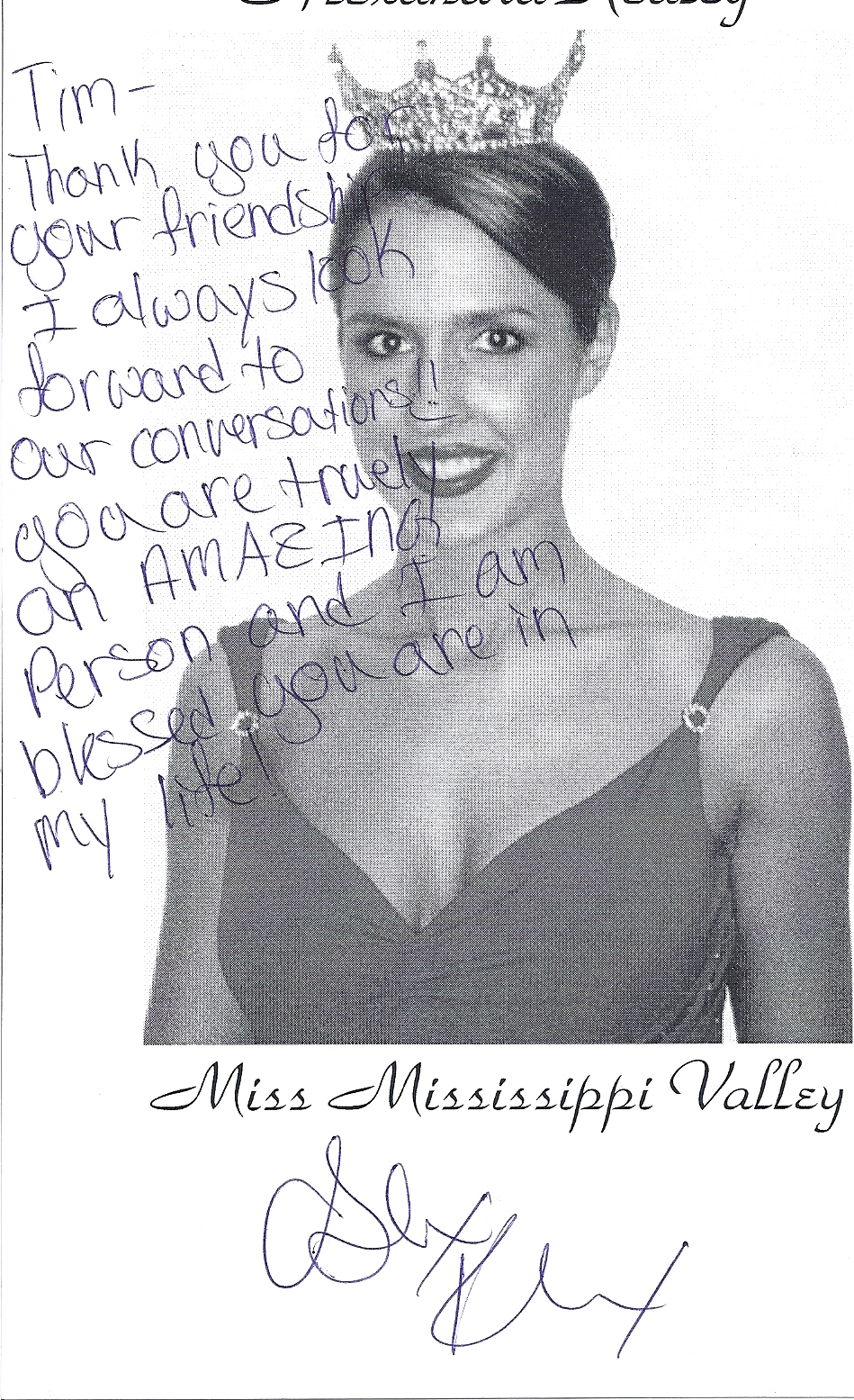 Alexandra Kealey, Miss Mississippi Valley