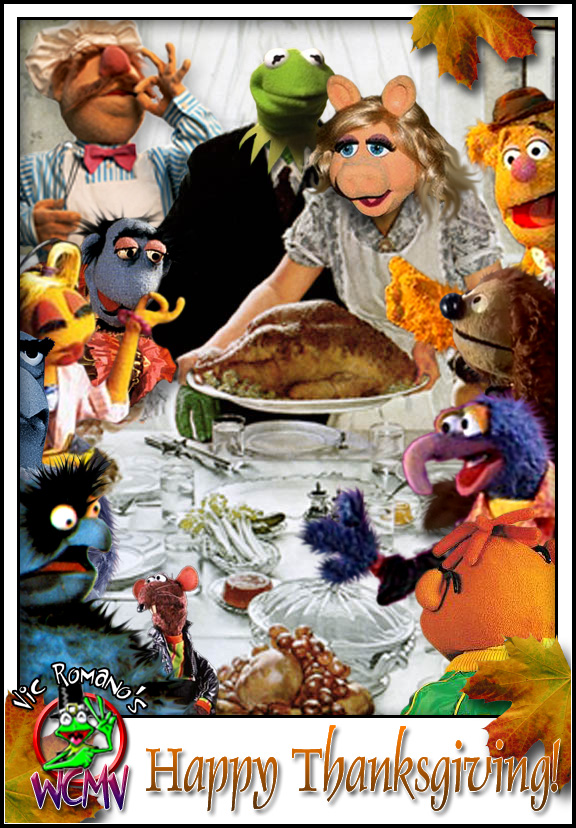 Rockwell Muppet Thanksgiving