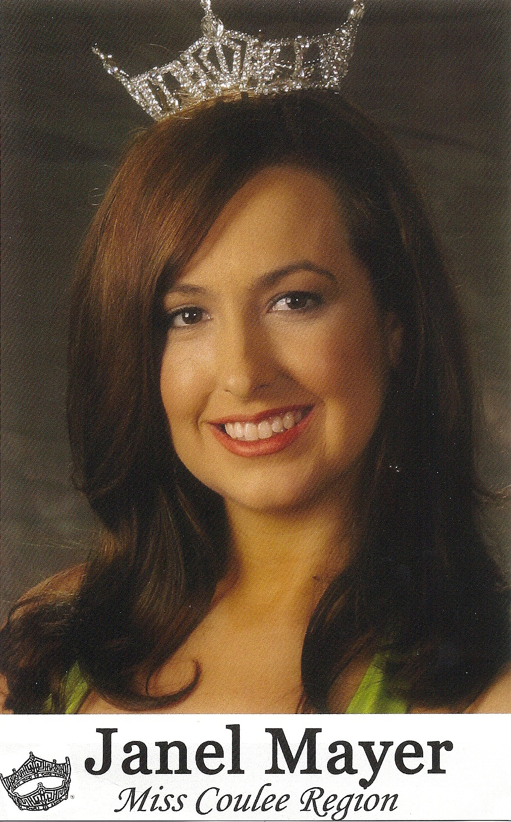 Janel Mayer, Miss Coulee Region