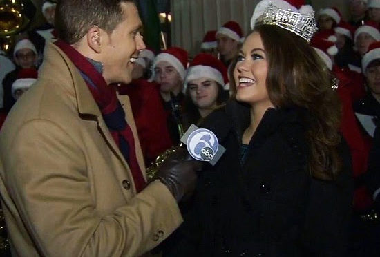 Miss America 2018 Cara Mund at Christmas