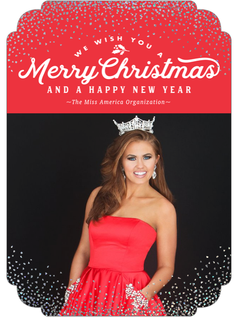 Merry Christmas and Happy New Year from Miss America